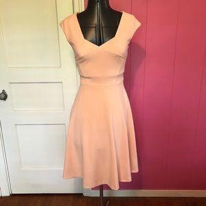 Peachy Pink Calvin Klein Dress